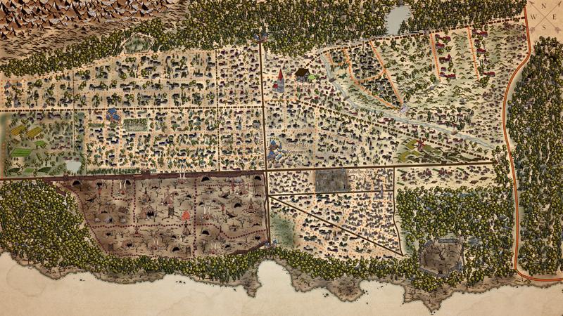 Neu-Isenburg Fantasymap